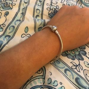 Pandora moments charm bracelet sterling silver